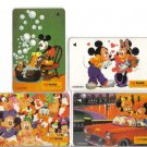 Mickey & Minnie Phonecard (mint) set of 4. Limited Edition