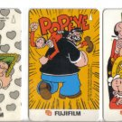 Popeye Phonecard (mint) set of 3. Limited Edition