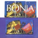 Bonia (mint) Transport card - Limited Edition. Set of 3