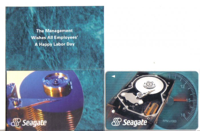 Seagate (mint) Transport card- Limited edition.
