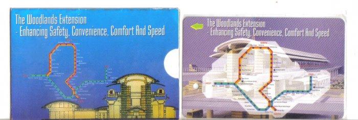 SMRT (mint) Transport card- Limited edition.