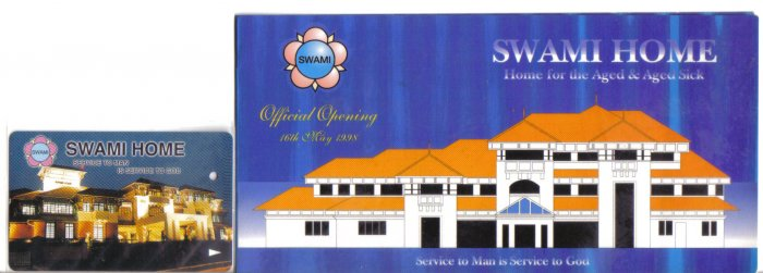 Swami Home (mint) Transport card- Limited edition.