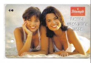 Triumph (mint) Transport card- Limited edition.