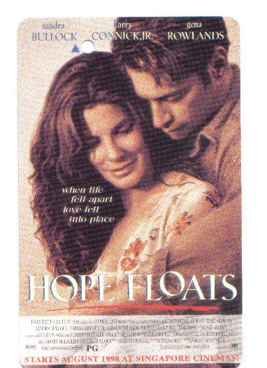 Hope Float (sandra Bullock) - (mint) Transport Card - Limited Edition