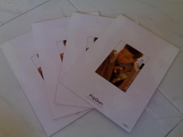 Alan Tam Writing Pad - Limited Edition