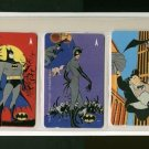 Batman Used phonecard set of 3
