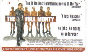 The Full Monty (rare) Limited Edition Transport card