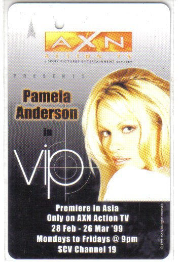 Pamela Anderson (rare) Limited Edition Transport card