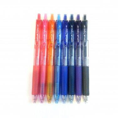 Uni-ball Signo RT UMN-138 Gel Ink Pen - 0.38mm (8 Color Set)