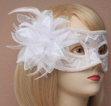 Lace Side Flower Masquerade Mask 100pcs