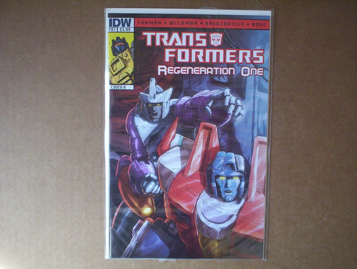Transformers Regeneration One #87 Cover A