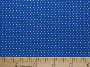 MINI DOTS 100% COTTON FABRIC SANTEE PRINT WORKS BLUE COLORWAY SIZE YOUR CHOICE