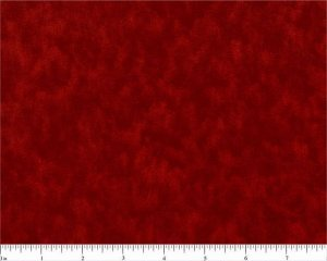 "2 1/2 Yards 108"" Wide Quilt Backing 100% Cotton Lollipop Red Tonal on bolt"