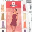 McCall's 3228 8 GREAT LOOKS 1 EASY PATTERN assorted sizes Petitte Slip Dress NIP