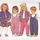 BUTTERICK 4591 Toddlers' AND Children's Play Clothes UNCUT PATTERN VARIOUS SIZES