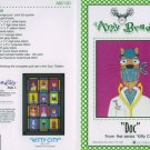 AMY BRADLEY Kitty City Quilt kit DOC fabric fusible embellishments