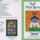 AMY BRADLEY Kitty City Sylvester the cat Quilt Block Pattern only free ship