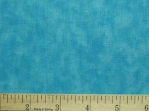 "3 Yards 108"" Wide Quilt Backing Blue Atoll Tonal Blender New on Bolt"