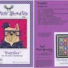 AMY BRADLEY DAZZLING DOGS QUILT KIT PUGSLEY FABRIC FUSIBLE EMBELLISHMENTS MORE