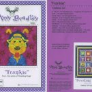 AMY BRADLEY DAZZLING DOGS QUILT KIT FRANKIE FABRIC FUSIBLE EMBELLISHMENTS MORE