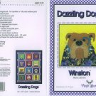AMY BRADLEY DAZZLING DOGS QUILT KIT WINSTON FABRIC FUSIBLE EMBELLISHMENTS MORE