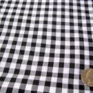 FQ143 Fat Quarter COLOR YOUR CHOICE GINGHAM poly cotton CHECK 1/4 INCH CHECK
