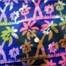 BATIK FABRICS MARSHALL DRY GOODS PALM TREES MULTI COLORED WITH ROWS
