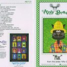 AMY BRADLEY Kitty City MAC Quilt Block Pattern only free ship