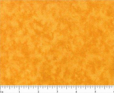 Half Yard Cotton Quilt Fabric BLENDER 0504 Gold Orange MOTTLED Tonal cotton new