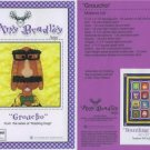 AMY BRADLEY DAZZLING DOGS GROUCHO QUILT Pattern only applique