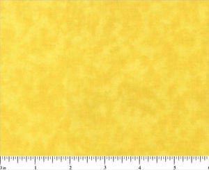 One Yard Cotton Quilt Fabric BLENDER 0502 Vibrant Yellow MOTTLED Tonal cotton
