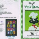 AMY BRADLEY Kitty City PIERRE Quilt Block Pattern only Applique
