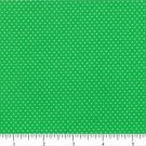Mini Dots Kelly Green 44/45'' 100% Cotton by the yard