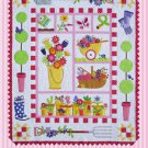 Amy Bradley Designs Applique Pattern Garden Full Size Quilt Pattern