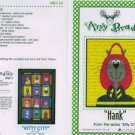AMY BRADLEY Kitty City HANK Quilt Block kit fabric fusible embellishments