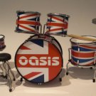 RGM322 Oasis Noel Gallagher  Union Jack  Miniature Drumkit