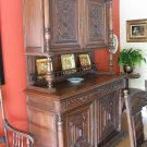 Antique LOUIS 14th Walnut Hutch 1870-1900