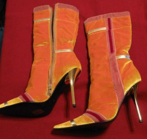Yellow Casadei Boots - Size 6