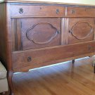 Antique Oak Linen Chest