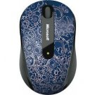 Microsoft Wireless Mobile Mouse 4000 Micro Blue D5D-00063