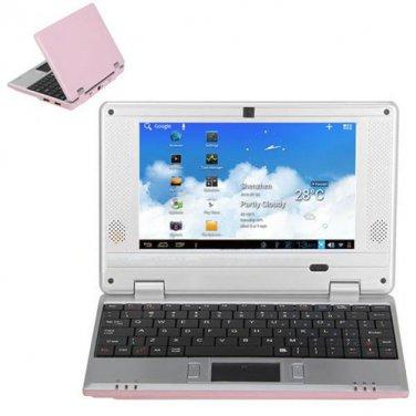 Brand New V702C 7 Inch Netbook VIA8850 Camera HDMI-Pink