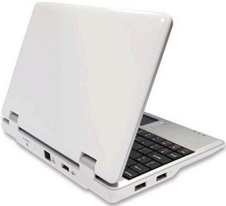 Brand New V702C 7 Inch Netbook VIA8850 Camera HDMI-white