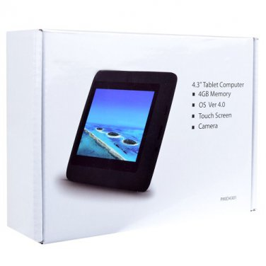 """MicroTab PMID4301 1.2GHz 512MB 4GB 4.3"""" Capactive Touchscreen"""