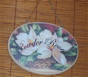 Powder Room Wood Signs Handcrafted Home Decor