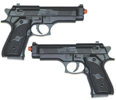 2 Military Issue 9mm Beretta Airsoft Paintball Guns