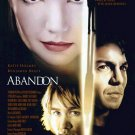 Abandon (2002) movie poster