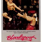 Bloodsport (1987) movie poster