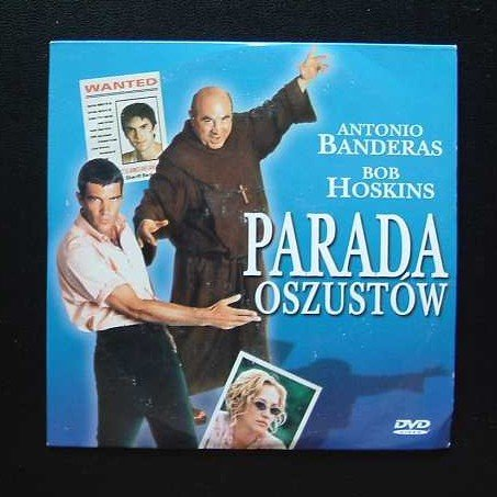 WHITE RIVER ANTONIO BANDERAS AND BOB HOSKINS POLISH LANGUAGE LANGUAGE DVD