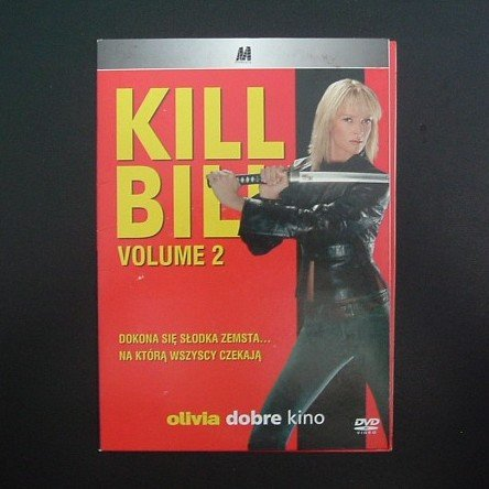 KILL BILL TWO   UMA THURLMAN, MICHAEL MADSEN and DARYL HANNAH  POLISH LANGUAGE DVD