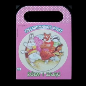 THE TORTOISE AND THE HARE POLISH LANGUAGE CHILDRENS CARRY HANDLE STORY BOOK